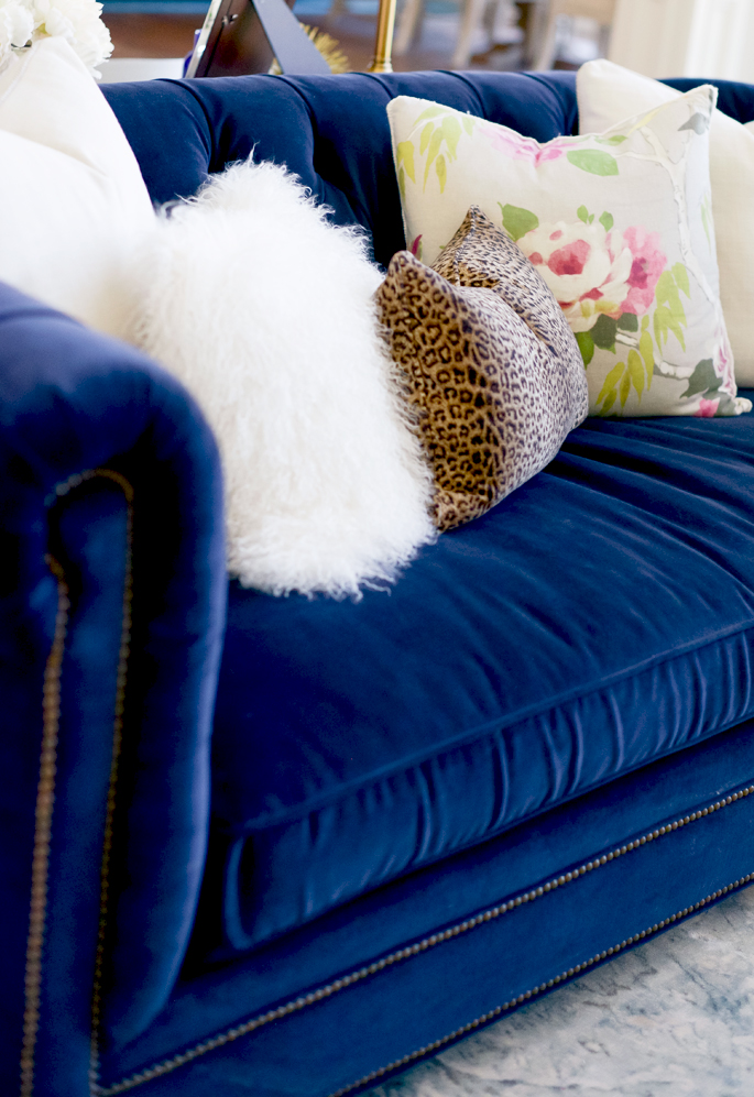 Pink Chaise Lounge Cushions